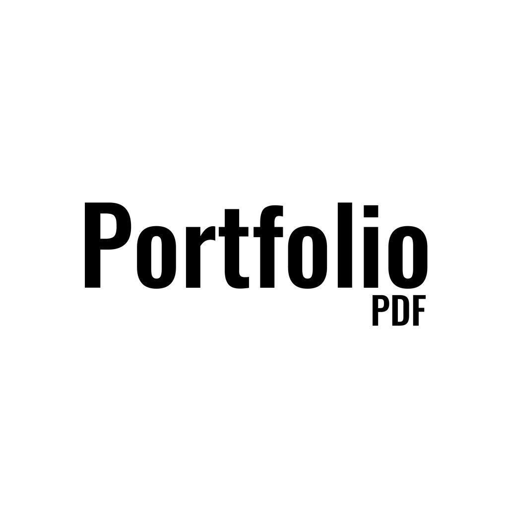 Portfolio PDF – Philip Bergström
